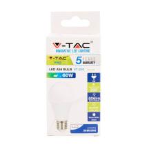 LED Lemputė VT  -SAMSUNG 210,E27/A60, 9W