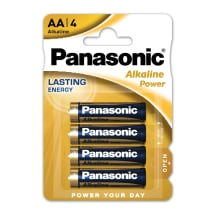 Baterijos PANASONIC LR6APB/4B