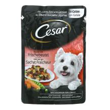 Konservi suņiem Cesar liellopa, dārzeņu 100g