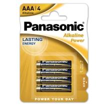 Baterijos PANASONIC LR03APB/4B