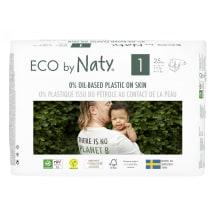 Autiņbiksītes Eco By Naty S1 2-5kg 25gab.
