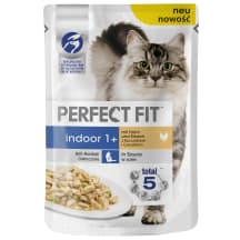 Konservi kaķiem Perfect Fit Indoor vistas 85g
