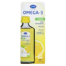 Zivju eļ. Lysi Omega-3 ar citrona garšu 240ml