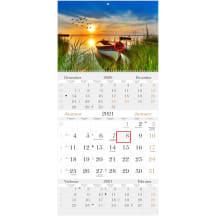 Kuma Trio 12 Lux - kalender