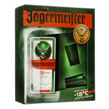 Likeris JAGERMEISTER, 35 %, 0,7l, su 2 stikl.