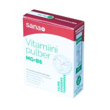 Vitamiinipulber SANA+ Mg ja B6-vit. 10*3g