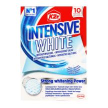 Skalbimo lapeliai K2R INTENSIVE WHITE, 10vnt.