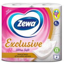 Tualetes papīrs Zewa Ultra Soft 4 ruļļi