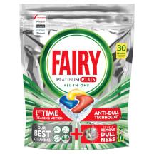 Tr.maš.kaps. Fairy Platinum Plus 30gab.