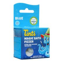 Maģiskā vannas bumba Tinti zila, 1 gab.