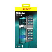 Komp. Gillette Mach3 kasetes 8gb+ skūš. žel.