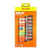 Komp. Gillette Fusion kasetes 8gb+skūš.želeja
