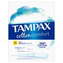 Tampoonid Tampax Cotton regular 16tk