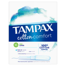 Tamponi Tampax Cotton Super,aplik. 16 gab.