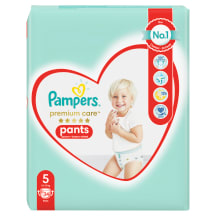 Autiņbiksītes Pampers Premium Pants S5 34gb