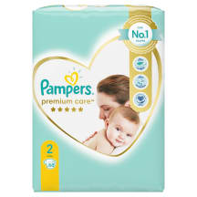 Autiņbiksītes Pampers Premium Care S2 68gb