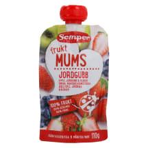 Puuviljapüree maasikaga Semper 6k 110g