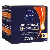 Nakts krēms Nivea Anti-Wrinkle 65+ 50ml