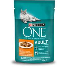 Šlapias ėdalas katėms One Adult vištiena 85g
