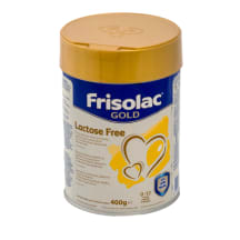 Piena mais. Frisolac Lactose Free no dz. 400g