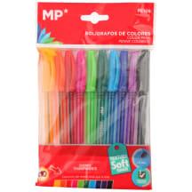 Rašiklių rinkinys, 10vnt., įvairių spalvų