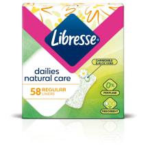 Higien.įklotai LIBRESSE NORMAL NATURAL,58vnt.