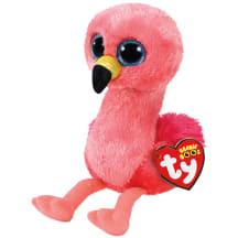 Žaislas TY GILDA rožinis flamingas, 15cm