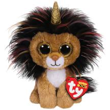 Žaislas TY RAMSEY liūtas su ragu, 15cm