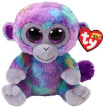 Žaislas ZURI - spalvų beždžionė, 15cm