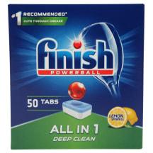 Tr.mazg.tab.Finish AllinOne Lemon  50gab