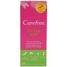 Pesukaitsmed Carefree Cotton Aloe 20tk
