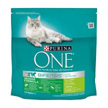Kaķu barība ONE Indoor Formula, sausā 1,5kg
