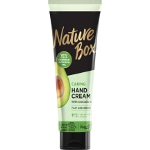 Kätekreem Nature Box Avocado Oil 75ml