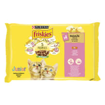 Kiisueine Junior kanaga Friskies 4x85g