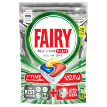 Indapl kaps. Fairy Platinum Plus Lemon 45vnt