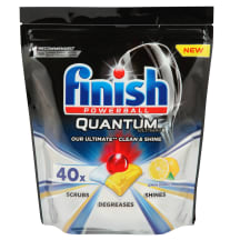 Tr.mazg. tab.Finish Quantum Lemon 40gab.
