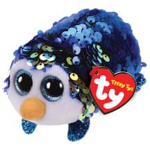 Žaislas TY Payton pingvinas su blizguč., 9cm