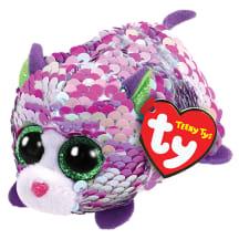 Žaislas TY Lilac katytė su blizgučiais, 9cm