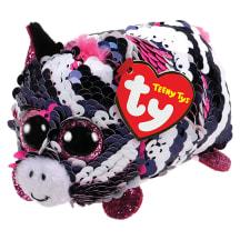 Žaislas TY Zoey zebras su blizgučiais, 9cm