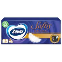 Pop. nosinaitės Zewa Softis, 4sl.10x9vnt