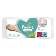 M.salvetes Pampers Sensitive, 52 pcs