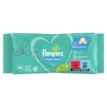 M. salvetes Pampers Fresh Clean 80 gab