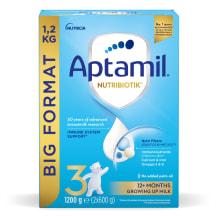 Pieno mišinys Aptamil 3, nuo 1m., 1,2kg