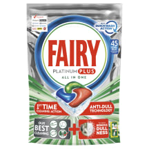 Tr.mazg.kaps. Fairy Platinum+ Quick 45gb