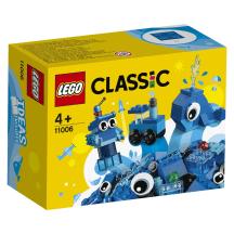 Mėlynos kaladėlės LEGO CLASSIC 11006