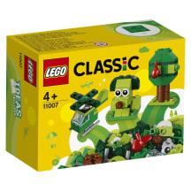Žalios kaladėlės LEGO CLASSIC 11007