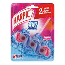 Tualetes bloks Harpic Tropu ziedu, 1gab.