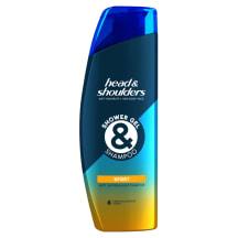 Šampūns un dušas želeja H&S Sport 270ml