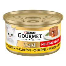 Konservai katėms GOURMET su vištien. 85g