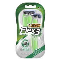 Sensitive raseerijad BIC Flex 3 3tk